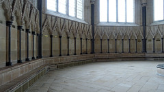 Wells Cathedral, chapter house blind arcade