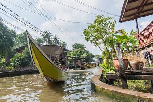 marche fottant damnoen saduak - thailande 43