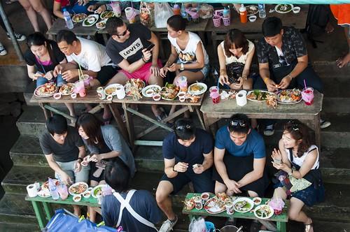 marché flottant amphawa - thailande 5