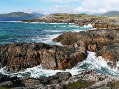 Rubha Romaigidh, Harris (Niall Corbet) Tags: scotland outerhebrides hebrides harris soundoftaransay coast sea rubharomaigidh wave surf rock