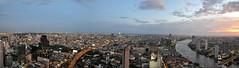 Bangkok 335-4-3 Panorama (SwissMike62) Tags: thailand bangkok city cityscape metropolis