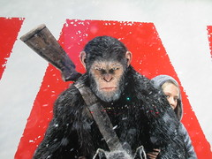 War of the Planet of the Apes Poster 8617 (Brechtbug) Tags: war planet apes poster beekman theater marquee billboard ad standee posters 2017 film movie profile 07152017 action movies films billboards plastic statue scary adventure ceasar caesar theatre advertisement chimp chimpanzee gorilla maurice orangutan 66th 67th street 2nd avenue new york city