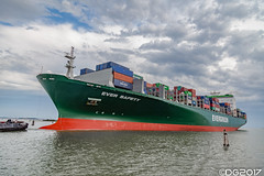Evergreen Ever Safety IMO: 9300465 MMSI: 352542000 (DavideEos) Tags: nave ship vessel evergreen ever safety container venezia port marghera