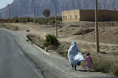Moroccan roadside (Salle-Ann) Tags: morroco street motherandchild robes
