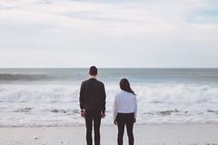 IMG_2980 (Jūlija Gr) Tags: couple nature ocean sea portugal calm hope waves boy girl photoshoot 50mm canon blue gray outdoor atlantic aveiro love story portrait
