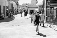 Style (Howie Mudge LRPS BPE1*) Tags: woman women people men male female candid casual portrait photography photographer outside outdoors oldtown paphos cyprus holiday vacation travel traveller travelling blackandwhite blackwhite bw mono monochrome monochromatic street streetphotography streetlife streetstyle light shadows bright sunny day olympus olympusuk olympusem5markii microfourthirds mft m43 compactsystemcamera mirrorlesscamera olympusm17mmf18 vsco trix