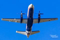 VH-ZXF ZL S340 34L YSSY-9479 (A u s s i e P o m m) Tags: saintpeters newsouthwales australia au regionalexpress rex zl saab s340 syd yssy sydneyairport