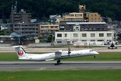 Japan Air Commuter JA851C (Howard_Pulling) Tags: fukuoka airport fuk fukairport japan japanese howardpulling