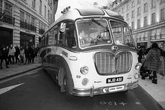 Bedford Duple Vega bus (wairua.photography) Tags: oldbus abw blackandwhite transportation classiccar classicbus