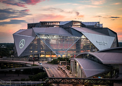 The Falcon Nest (JustinDustin) Tags: 2017 atlanta city downtown ga georgia location middlegeorgia northamerica organization us usa unitedstates weloveatl mercedesbenzstadium atlantafalcons football stadium