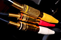 RCA A/V (donjuanmon) Tags: donjuanmon nikon macro macromondays hmm 3 three rca av cables video audio red yellow white gold black