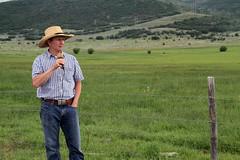 Utah rancher (baalands) Tags: utah cattle rancher pasture