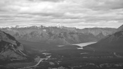 Sounds of wind (naromeel) Tags: banff canada nature bw