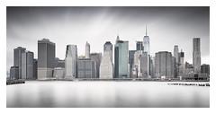 Downtown III (Vesa Pihanurmi) Tags: newyork nyc manhattan skyline longexposure cityscape architecture skyscrapers downtown