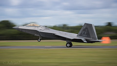 F22 Raptor (AdrianH Photography) Tags: nikon d500 aviation aeroplanes airshows aircraft airtattoo fairford glostershire usaf