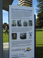 Reg Sprigg's Diving Chamber (Lesley A Butler) Tags: sa glenelg autumn australia adelaide