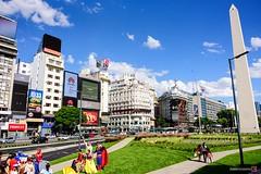 Encuentro de Superman (hapePHOTOGRAPHIX) Tags: 032arg américadelsur argentina argentinien buenosaires nikond750 obelisco sannicolás southamerica südamerika dsplyys hapephotographix superman ciudadautónomadebuenosaires ar