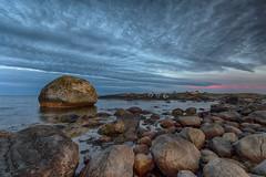 IMGP2364 (jarle.kvam) Tags: raetnationalpark tromøy rock skagerak shore sea sunset norway