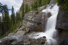 Draining from Lake Agnes (Ken Krach Photography) Tags: banffnationalpark