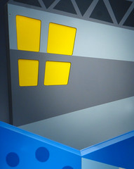 Yellow Window (arbyreed) Tags: arbyreed window windowwednesdays thecabinetofdrcaligari abstract abstractwindow yellow hww ikea