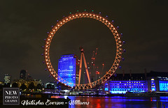 Night Eye (newphotographyuk) Tags: london wheel londoneye nightime daytime blue sky circle photography architecturephotography
