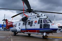 Eurocopter EC225 Super Puma ~ F-WQDJ  China Rescue (Aero.passion DBC-1) Tags: dbc1 david biscove aeropassion aviation avion aircraft plane lbg 2007 salon bourget paris air show eurocopter ec225 super puma ~ fwqdj china rescue helicopter helicoptere helico