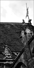 19 - Tours - Cathédrale Saint-Gatien (melina1965) Tags: juillet july 2007 centrevaldeloire indreetloire tours nikon d80 église églises church churches noiretblanc blackandwhite bw sculpture sculptures statue statues