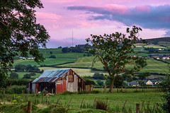 """""""There's Beauty in Simplicity"""" (Gareth Wray - 10 Million Views, Thank You) Tags: mt 70200mm ballymagorry artigarvan leckpatrick parish mill barn landscape landmark tourist attraction tourism tourists historic history visit tyrone strabane ireland irish scenic gareth wray photography nikon sun atlantic day vacation 2017 sunset shed tin hut outhouse house farm hill home ruin abandoned homestead manor mansion red road dry stone decay rural traditional lost overgrown design architecture sky shack"""