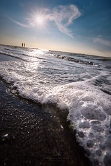 summer (agapicture) Tags: sky clouds water waves light seascape