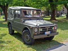 Fiat Nuova Campagnola (Maurizio Boi) Tags: fiat campagnola ar59 ar76 fuoristrada offroad 4wd awd 4x4 militare military emergenza emergency car auto voiture automobile coche old oldtimer classic vintage vecchio antique italy carabinieri voituresanciennes