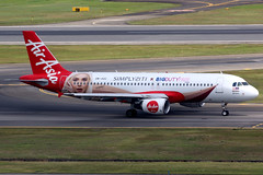 AirAsia | Airbus A320-200 | 9M-AQC | BIG Duty Free livery | Singapore Changi (Dennis HKG) Tags: airasia axm ak airbus a320 airbusa320 aircraft airplane airport plane planespotting singapore changi wsss sin 9maqc canon 7d 100400