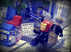Fake News (WattyBricks) Tags: lego marvel comics superheroes spiderman homecoming 76082 peter parker avengers masks iron man captain america hulk chitauri vulture mcu