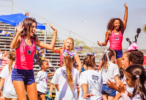 2017 Dallas Cowboys Cheerleaders Camp