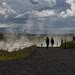 camminata nella foschia (mjwpix) Tags: camminatanellafoschia walkingintothemist deildartunguhver hotspring thermalspring silhouette michaeljohnwhite mjwpix canoneos5dmarkiii tamron28300mmf3563divcpzd iceland