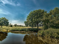 OuseSouthOfIsfield - Copy (iankellybn26dj) Tags: sussexengland lewes isfield barcombe mills ouse landscape uk summer river photo reflection