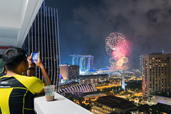 Spectactors (MorningRain15) Tags: nikon d7100 tokina fireworks night sky city cityscape landscape celebration ndp singapore