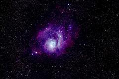 M8 Lagoon Nebula (Ggreybeard) Tags: messier 8 m8 ngc6523 ngc6533 sagittarius ed120 astronomy deepsky nebula