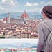 View over Florence from Piazzale Michelangelo, Italy