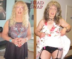 Fiona and Rose head-swap (Melissa Red) Tags: headswap swap faceswap bodyswap head morph interni