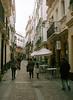 Streets of Cadiz - Spain (abnercestari) Tags: 120 120film 645mmediumformat 80mm 80mmf19 cadiz canon europe film kodak kodakportra160 mamiya645 mamiya645pro portra160 sekor80mmf19 spain xray xraydamage analog analogphotography mediumformatphotography cádiz