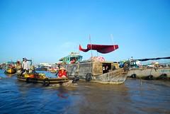 (Aris Gionis) Tags: vietnam cantho river mekongriver floatingmarket