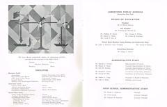Centennial Celebration & Dedication booklet p.1-2 (terry lorenc) Tags: jhs class 1967 jamestown high school new york