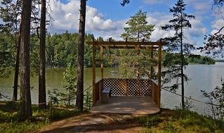 Lake Tuusulanjärvi. Tuusula, #Finland #Summer