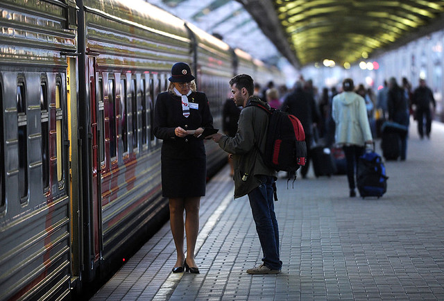 Билеты напоезда меняют дизайн