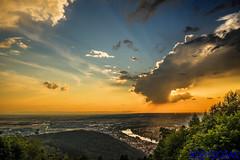 HEIDELBERG (01dgn) Tags: königstuhl heidelberg almanya germany deutschland sunset travel sky colors landschaft