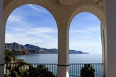 La costa de Maro (camus agp) Tags: costa paisaje mar mediterraneo maro nerja españa mirador montañas cielo nubes