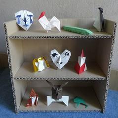 Hideo Komatsu challenge 01-10/50 (Orizuka) Tags: origami hideokomatsu hkchallenge