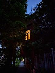 House. One More Light (andrey.pehota) Tags: house oldbuilding oldtown nizjnynovgorod night street city