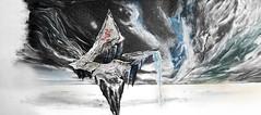 3ELECTRICO ilustración CD (Ale Viña) Tags: fantasyart arte ilustracion dibujo diseño editorial cd artedetapa montaña música rock progresivo sinfónico