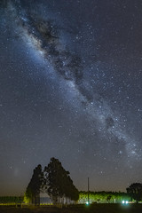 I love all of this .... (Valter Patrial) Tags: matogrossodosul brasil br sky landscape nature night light tree lights silhouette art dark mystery star panoramic outdoors milky way photography
